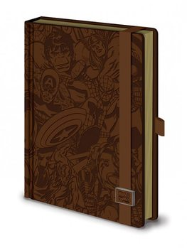 Papelaria Marvel Retro - Premium A5 notebook