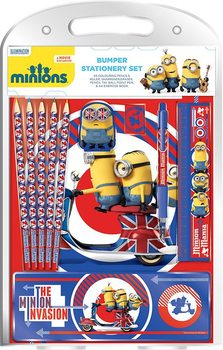 Papelaria Minions - British Mod Bumper Stationery Set
