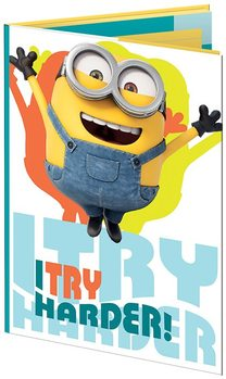 Papelaria Minions - Les Buddies A6 Sticky Notes Set