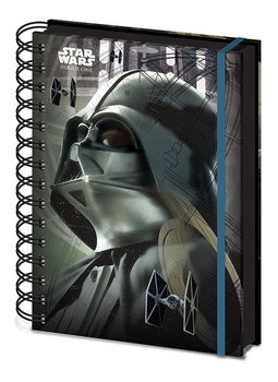 Papelaria Star Wars Rogue One - Darth Vader A5 Notebook