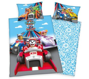 Bed sheets Paw Patrol - Ready Race Rescue