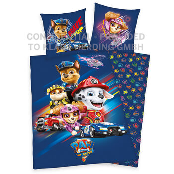 Bed sheets Paw Patrol - The Movie