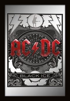 MIRRORS - ac/dc black ice Peili