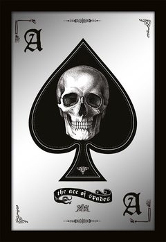 MIRRORS - ace of spades Peili