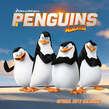 Calendar 2021 Penguins of Madagascar