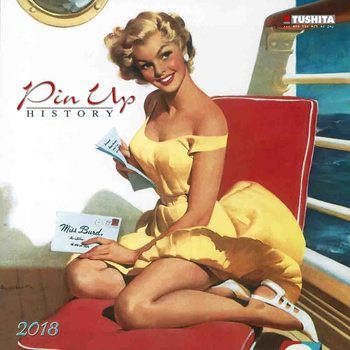 Calendar 2021 Pin Up History