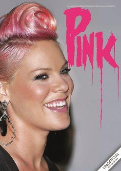 Calendar 2021 Pink