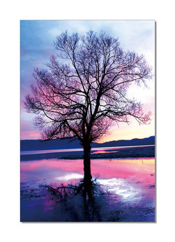 Pink Tree Tableau Multi-Toiles
