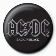 Pins AC/DC - BACK IN BLACK