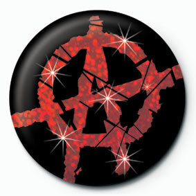 Pins  ANARCHY - red