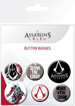 Conjunto de crachás Assassins Creed - Mix