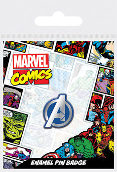 Crachá Avengers - Logo