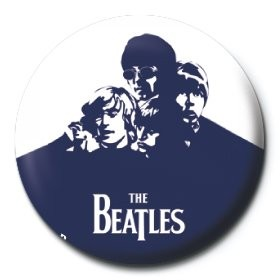 Pins BEATLES - blue