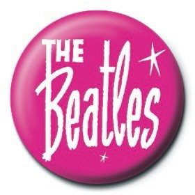 Pins BEATLES - pink