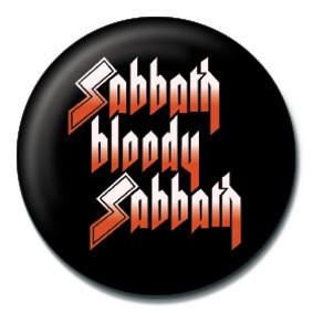 Pins BLACK SABBATH - Sabbath bloody Sabbath