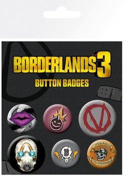 Conjunto de crachás Borderlands 3 - Icons