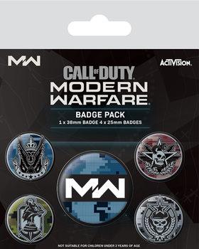 Conjunto de crachás Call Of Duty: Modern Warfare - Fractions