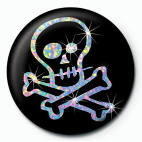 Pins CARTOON SKULL