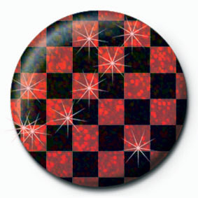 Pins CHECK - Black
