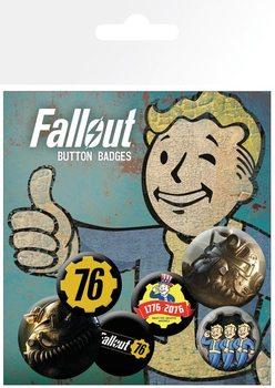 Conjunto de crachás Fallout 76 - T51b