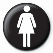 Pins FEMALE SIGN