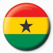 Pins Flag - Ghana
