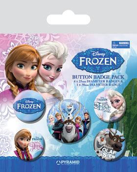 Conjunto de crachás Frozen