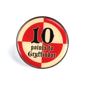 Crachá Harry Potter - 10 Points Gryffindor