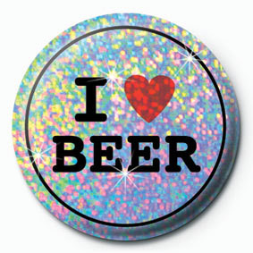 Pins I LOVE BEER