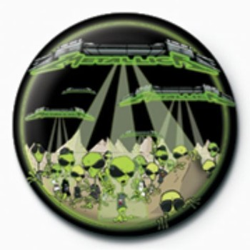 Pins METALLICA - aliens  GB