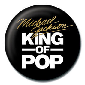 Pins MICHAEL JACKSON - king of the pop