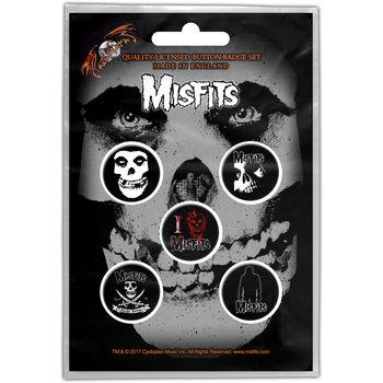 Pins Misfits – Skull Button