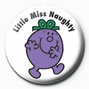 Pins MR MEN (Little Miss Naught