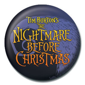 Pins NIGHTMARE BEFORE CHRISTMAS - logo
