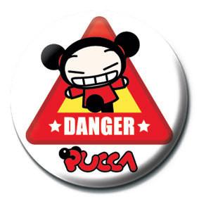 Pins PUCCA - danger