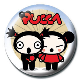 Pins PUCCA - umbrella