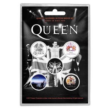 Conjunto de crachás Queen - Freddie