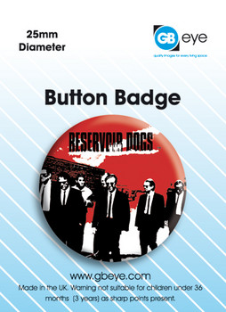 Pins  Reservoir Dogs Red