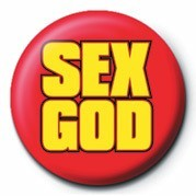 Pins SEX GOD