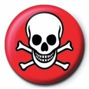 Pins SKULL & CROSSBONES (RED &