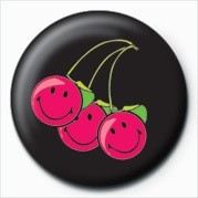 Pins SMILEY - CHERRIES