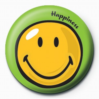Pins Smiley World-Happiness