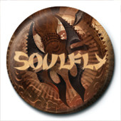 Pins Soulfly - Blade Logo