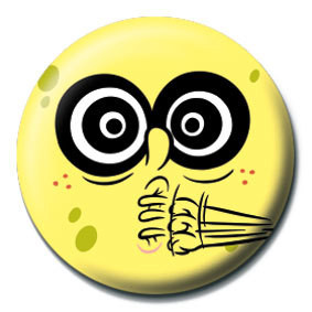 Pins SPONGEBOB - crazy