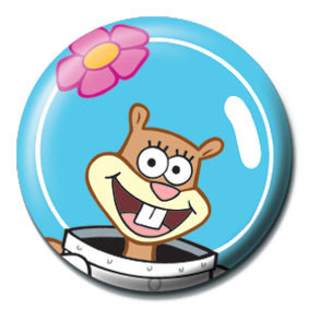 Pins SPONGEBOB - sandy face
