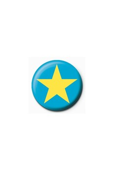 Pins  STAR - blue/yellow