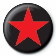 Pins  STAR (RED)