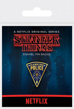 Crachá Stranger Things - Hawkins Police