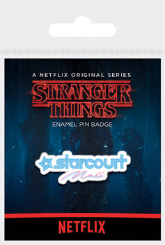 Pins Stranger Things - Starcourt Mall