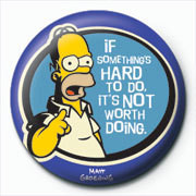 Pins THE SIMPSONS - homer hard to do